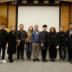 04 Group photo of the honored guests 290x290 - Shirazeh Houshiary in Dialogue with Yu Hong: The Enlightenment of Contemporary Art in Dunhuang