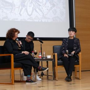 05 View of the lecture 290x290 - Shirazeh Houshiary in Dialogue with Yu Hong: The Enlightenment of Contemporary Art in Dunhuang