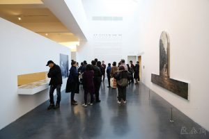 Installation view of the exhibition