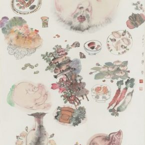 08 Li Jin Satiation A Bounteous Feast 180 x 97 cm 1 290x290 - Li Jin