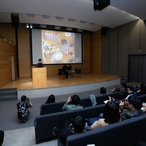 08 View of the lecture 290x290 - Shirazeh Houshiary in Dialogue with Yu Hong: The Enlightenment of Contemporary Art in Dunhuang