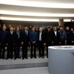 12 Group Photo of Honored Guests 290x290 - The Start of a Long Journey: Outstanding Works by the Graduates of 2018 from Key Art Academies in China, is on display at CAFAM
