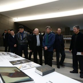 13 Honored guests visited the exhibition 290x290 - The Start of a Long Journey: Outstanding Works by the Graduates of 2018 from Key Art Academies in China, is on display at CAFAM