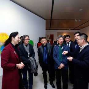 15 Honored guests visited the exhibition 290x290 - The Start of a Long Journey: Outstanding Works by the Graduates of 2018 from Key Art Academies in China, is on display at CAFAM