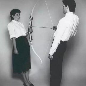 "Marina Abramović and Ulay Rest Energy 1980 © Marina Abramovic 290x290 - Today Art Museum presents ""LOVE: Intimate"" focusing on video art"