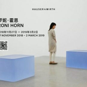 Poster of Roni Horn Solo Exhibition 1 290x290 - Hauser & Wirth presents Roni Horn's first solo exhibition in Greater China
