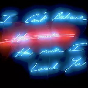 "Tracey Emin I Promise To Love You digital limited edition 290x290 - Today Art Museum presents ""LOVE: Intimate"" focusing on video art"
