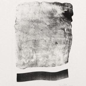 Wang Gongyi, Sky · The Earth, 1992; Lithograph, 34x27cm