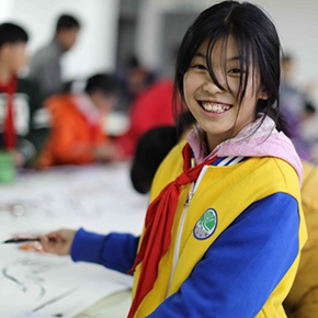 """The Use of Art and Love to Cultivate Chinese Children: 2018 """"Each Dream • Entering the Country"""" The Volunteer Teachers Project was successfully completed"""