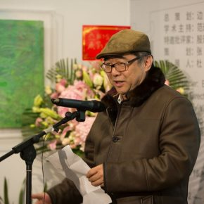 Bian Wei, Deputy Director of the Prince Kung's Mansion, the Ministry of Culture and Tourism as well as the chief planner of the exhibition