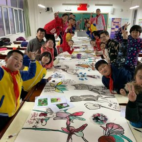 The Course of Chinese Painting at Yanhe Center Primary School, Shunyi District