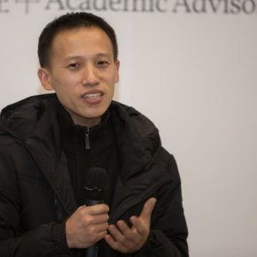Artist Chen Mingqiang addressed at the opening ceremony