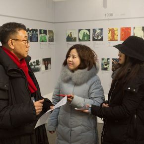 Artist Jin Rilong was interviewed by CAFA ART INFO