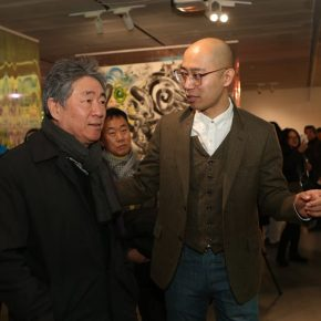 Honored Guests visited the exhibition including Bai Xiaogang, Tan Ping, Jin Rilong and Artist Wu Jian'an