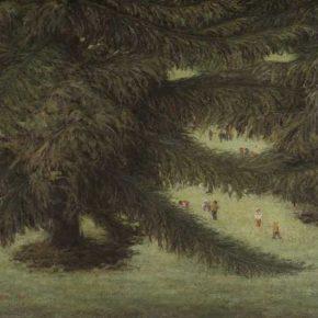 Li Ruinian, Life, oil painting, 105 x 156 cm, 1984