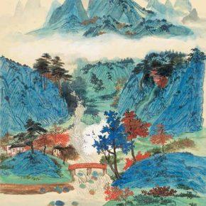 Pan Su, Autumn Landscape of Da Ling