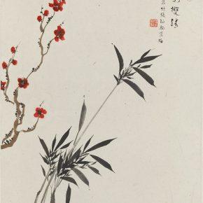 Zhang Boju and Pan Su, Painting of Plum Blossom and Bamboo