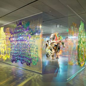 """Exhibition View of the Third Chapter """"Infinite and Sincere, the Emergence of Artificial Omens"""""""