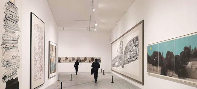 """Winds of Change in Forty Years: """"Breakthrough and Return"""" of Chinese Ink Paintings"""