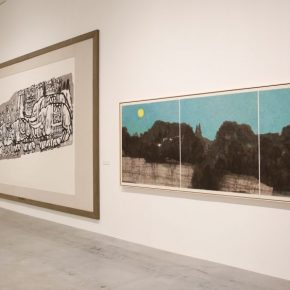 "Exhibition View of ""New Ink Art in China 1978-2018""at Beijing Minsheng Art Museum"