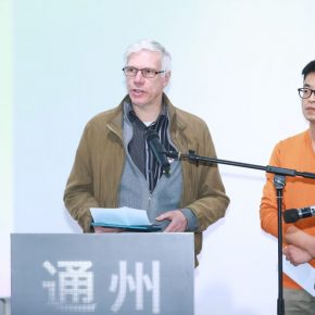 Luc Van Gool, Chief Expert for CAFA Visual Art Innovation Institute, delivered a speech