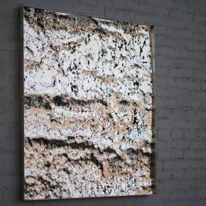 Zhan Wang, Imprinting Terrain, 2015; Sculpture, 100×100cm