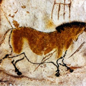 Cave painting of the Prehistoric civilization in Europe
