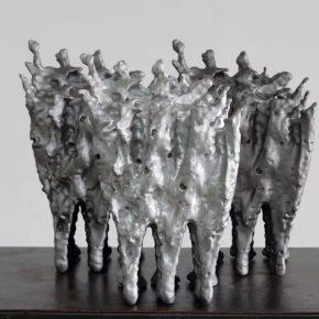 Zhan Wang, Strength in Flux, 2017; Sculpture, 41×25×21cm