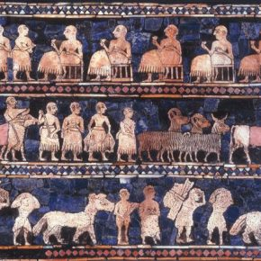 The Standard of Ur by the Sumerian