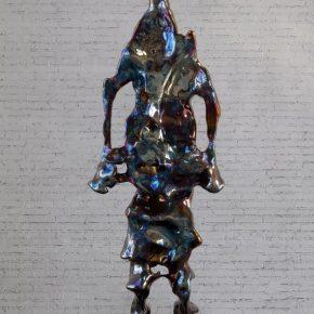 Zhan Wang, Forms in Flux 6#, 2017; Sculpture, 300×96×49cm