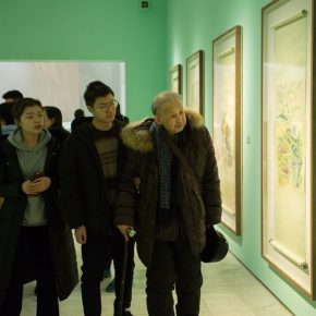 "Exhibition view of ""Zheng Jin and Modern Chinese Art Education"""