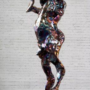 Zhan Wang, Forms in Flux 17#, 2017; Sculpture, 173×70×67cm