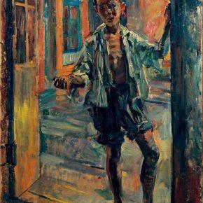 Dong Xiwen, Little Beggar, 1947; Oil on canvas, 100×80cm