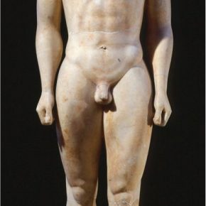 A Greek Sculpture with a Smile, 530 BCE