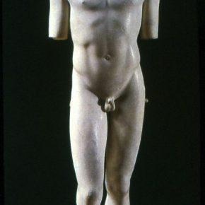 Kritios Boy, a new standing posture, 480 BCE