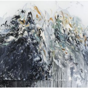Maggi Hambling, Wall of Water 6, 2011; Oil on canvas, 198x226cm
