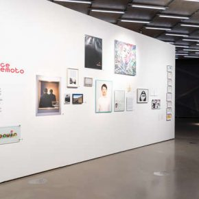 Installation view of Jun Yang Photo by N. Lackner, Universalmuseum Joanneum