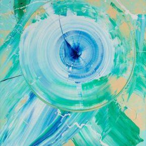 Kazuo Shiraga, Fregrance, 1975; Oil on canvas, 130x97cm