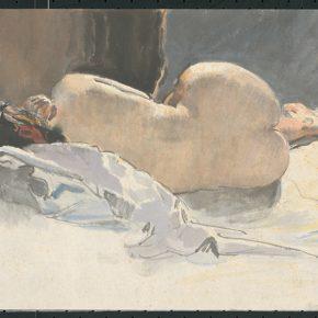 Li Hu, A Female Nude, 1950s