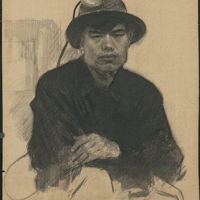 Li Hu, A Miner, 1950s