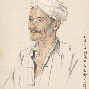 Li Hu, A Sichuan Farmer, 1956