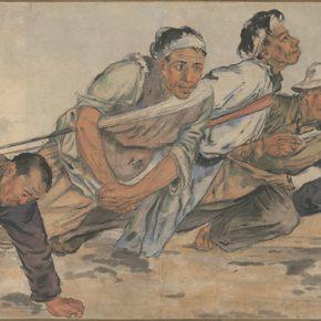 Li Hu, Boat Trackers, 1946