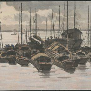Li Hu, Lowered Sails, 1950s