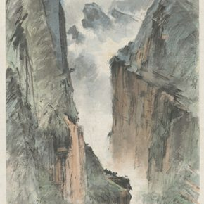 Li Hu, Mountains No. 24, 1950s