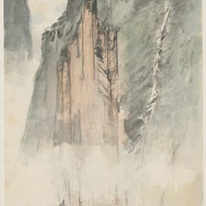 Li Hu, Mountains No. 27, 1950s