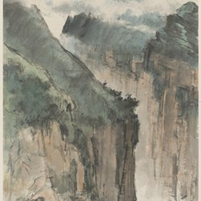 Li Hu, Mountains No. 3, 1950s