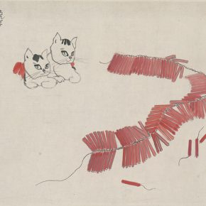 Li Hu, New Year Painting, 1959