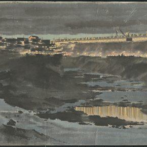 Li Hu, Night at Lion Beach, 1956