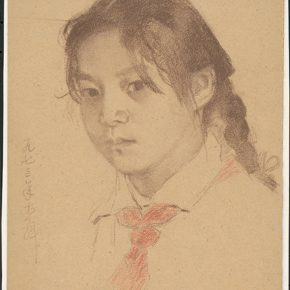 Li Hu, Portrait of Li Yun, 1973