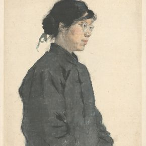 Li Hu, Portrait of Xu Zuying, 1956